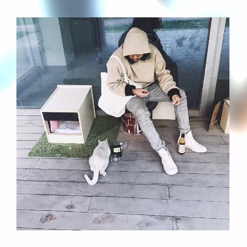 good quality nice hip hop hoodies fleece WARM winter mens kanye west hoodie sweatshirt swag solid Olive YEEZY pullover - CHENXUAN NELLY Hip Hop store