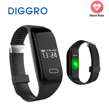 Buy Smart Band Diggro H3 Heart Rate Monitor Activity Fitness Tracker Wristband Bracelet Watch Bracelet IOS & Android Smartphone for $16.99 in AliExpress store