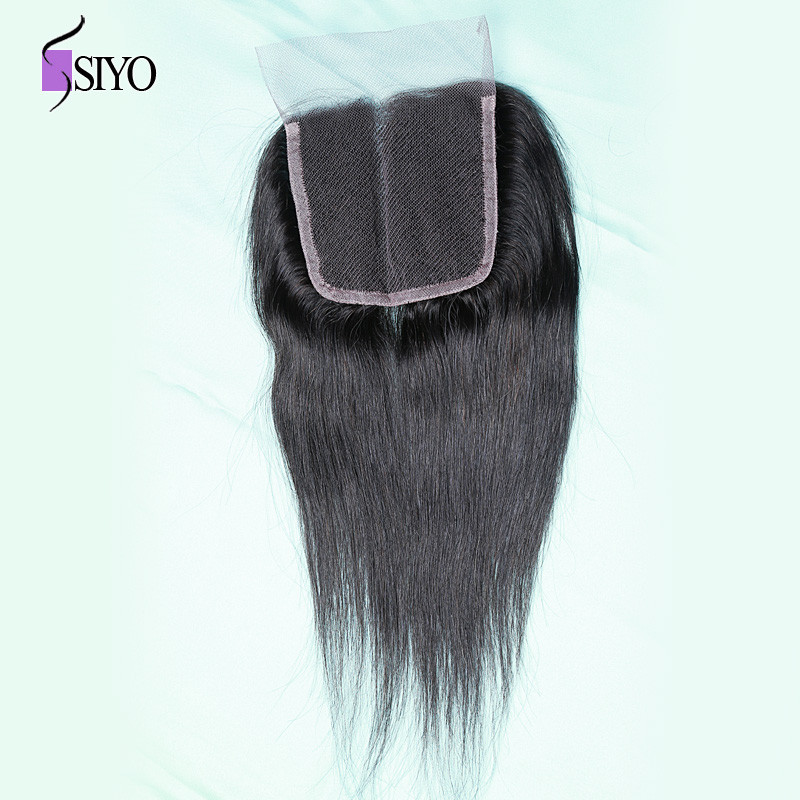 Aliexpress Human Hair Weave Closure Straight Lace Closures grade 8a Unprocessed Virgin Hair Closure Free Part Closures