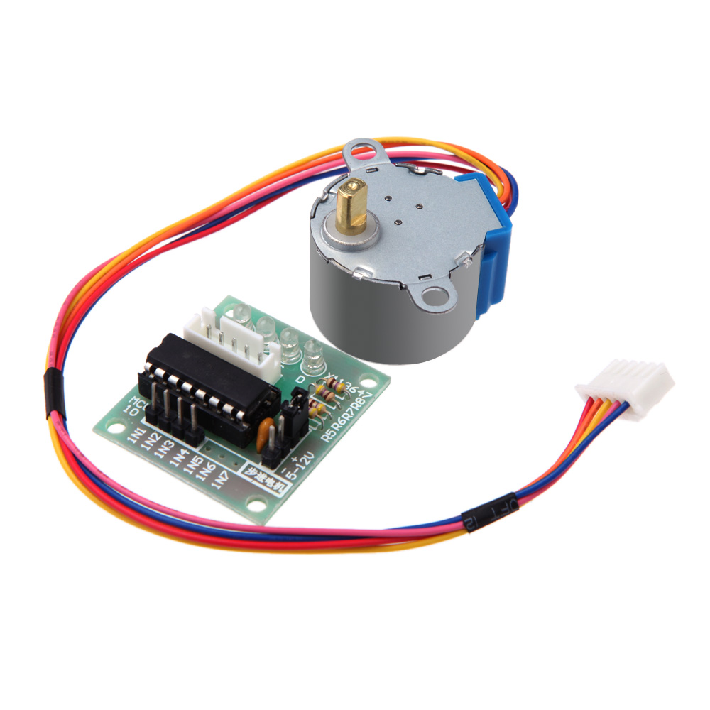 5V 4-Phase Stepper Step Motor + Driver Board ULN2003 for Arduino with drive Test Module Machinery Board Tools(China (Mainland))