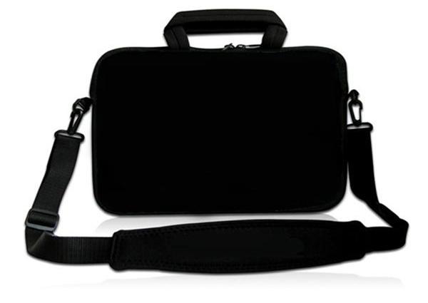 """Hot Sale 16.5"""" 17"""" 17.3"""" 17.4"""" Black Laptop Messenger Shoulder Strap Bag Notebook Tablet PC Handbag(China (Mainland))"""