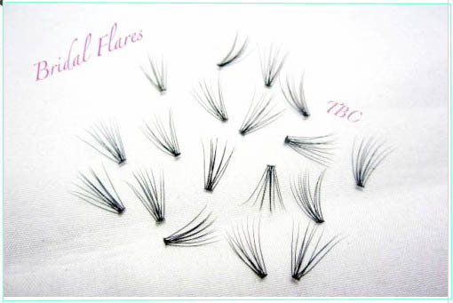 BRIDAL FLARE SILK LASHES Criss Cross Design 8mm/10mm/12mm Eyelash Extension(China (Mainland))