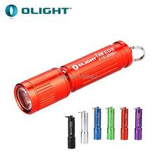2015 New Olight I3E EOS Mini Keychain Flashlight 90Lumens 5 Colors NO Silver Color AAA Mini Pocket LED Flashlight Christmas Gift(China (Mainland))