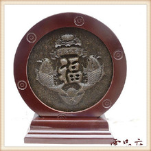 500 grams Yunnan Pu'er tea, ornaments, pendants, blessing fish pattern, birthday gifts to give as gifts, free shipping(China (Mainland))