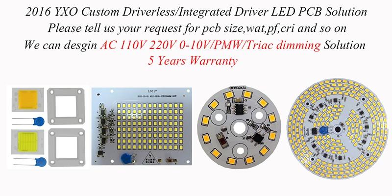 Yxo Led Cob Lamp Chip 50w 100w 150w 200w 220v Input