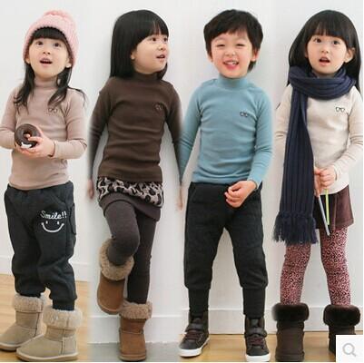 Special offer 2014 children qiu dong outfit girl's boy's children's wear long sleeve T-shirt render unlined upper garment - balabala11 store