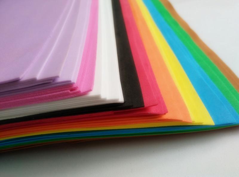 20pcs/lot 20*29cm A4 1mm EVA Foam Sheet DIY Craft Material Multicolour(China (Mainland))