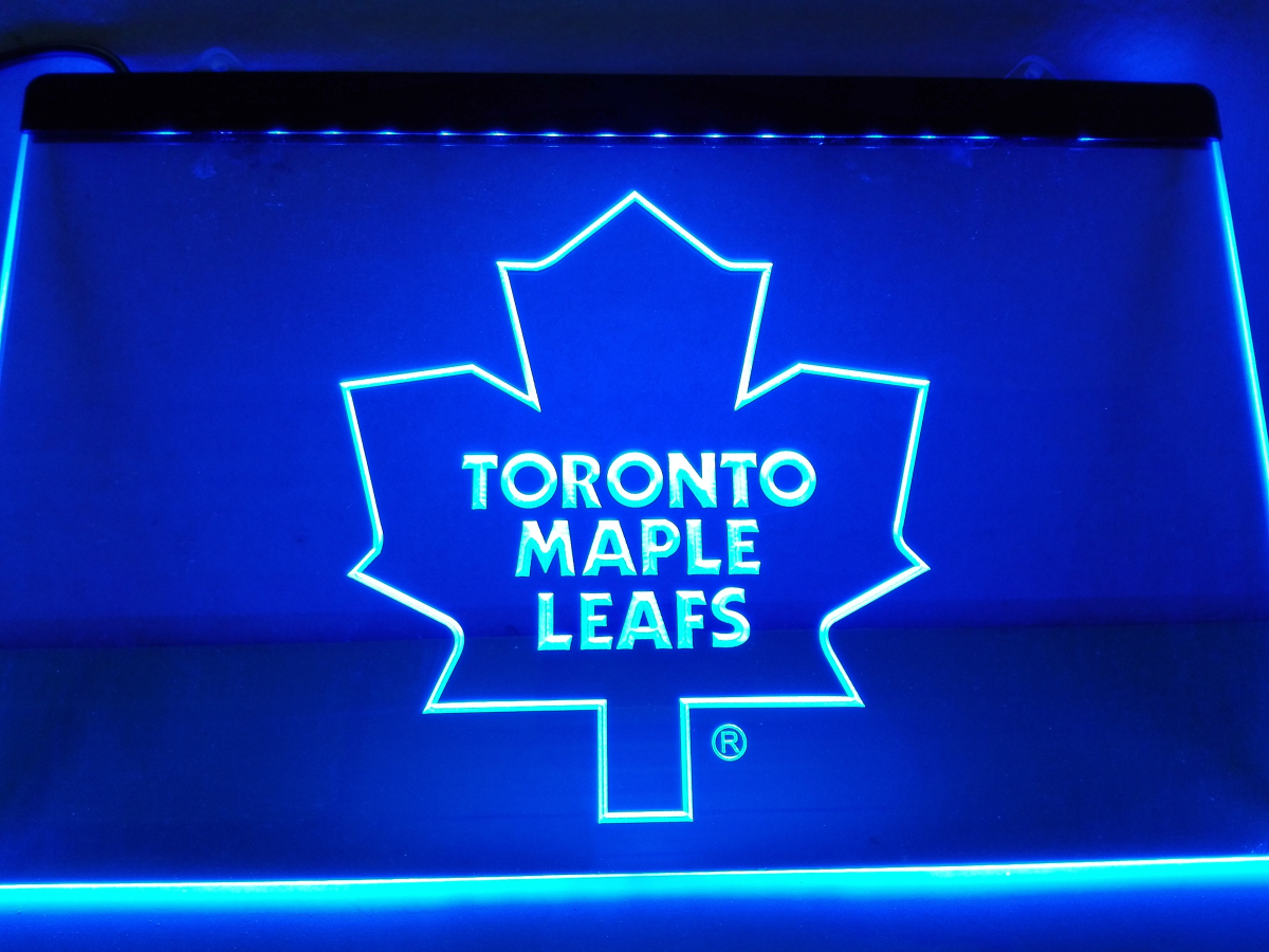 LD103- Toronto Maple Leafs LED Neon Light Sign home decor crafts(China (Mainland))