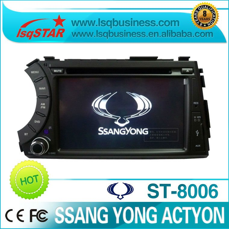 SSANG YONG Kyron car dvd(China (Mainland))