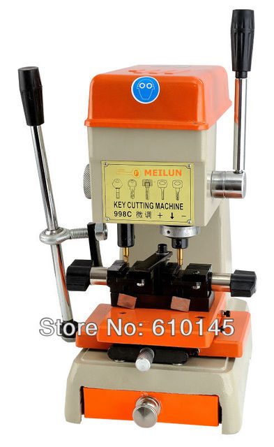 998C key cutting machine 220v/50hz and 110v/60hz for door and car lock key copy machine to make keys   locksmith supplies