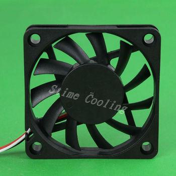 10pcs/set DC 12V 3pin 6010 60x60x10 60mm Mini Motor Cooling Cooler Fan