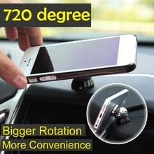 Car Kit Magnetic 360 Degrees Magnetic Car Dashboard Mobile Mount Car Phone Holder Magnet mobile phone holder(China (Mainland))