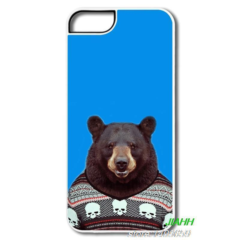 Dropshipping Plastic Case case iphone 4 4S 5 5S 5C 6 plus Bear cloth Custom Iphone - shenzhen TOP10 Technology Co. Ltd store