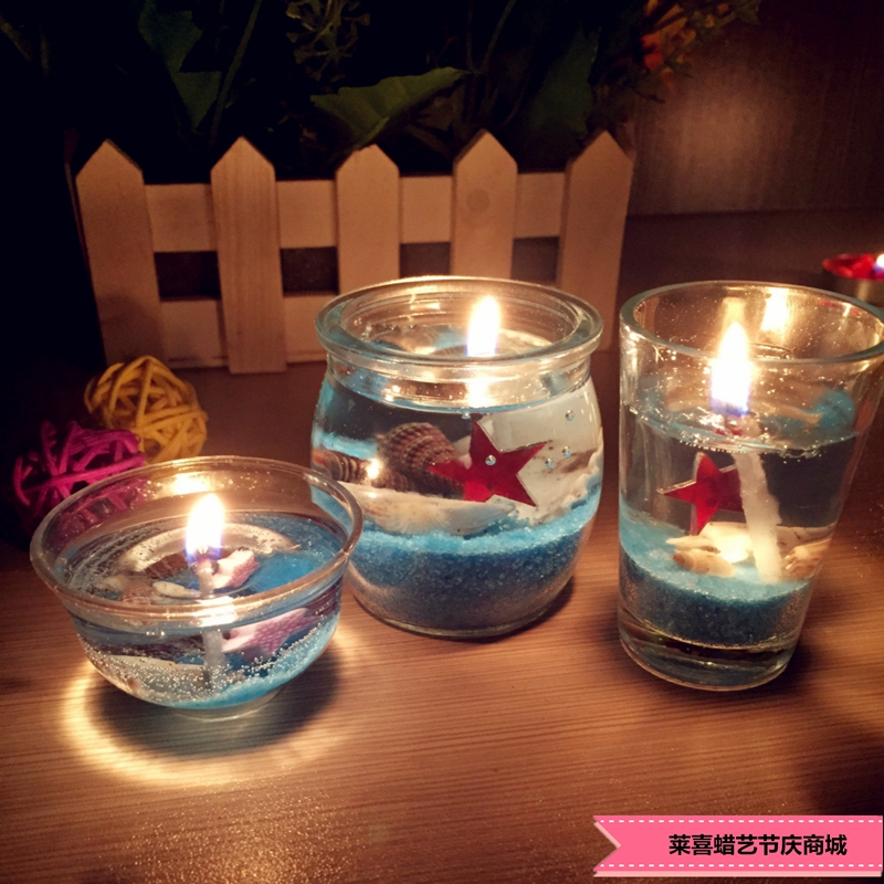 5x5x6cm wedding decoration ocean series crystal jelly yankee candle mousse romantic glass cup. Black Bedroom Furniture Sets. Home Design Ideas
