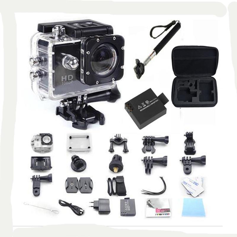 SJ4000 WiFi go pro hero 3 style Sport Camera video 30M Waterproof 1080P Full HD DVR Sport action Camera+ battery+monopod+cam bag<br><br>Aliexpress