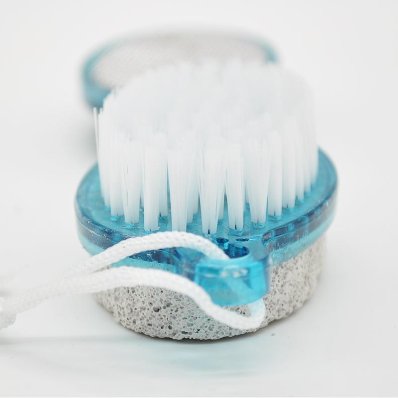 2015 Foot Care Tools Washing Feet Brush Foot Care Callus Brush Exfoliating Scrub Grinding Foot Brush Remove Calluses G*JJ1024W(China (Mainland))