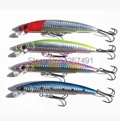 Heavy Laser Minnow Fishing Lure Floating 11 5cm 18g Fishing Wobblers