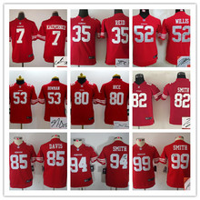 youth San Francisco 49ers children 16 Joe Montana 42 Ronnie Lott 80 Jerry Rice 82 Torrey Smith 81 Anquan Boldin,camouflage(China (Mainland))