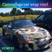 152cmx50cm Hot high quality camo vinyl wrap self adhesive vinyl film white camouflage car vinyl film