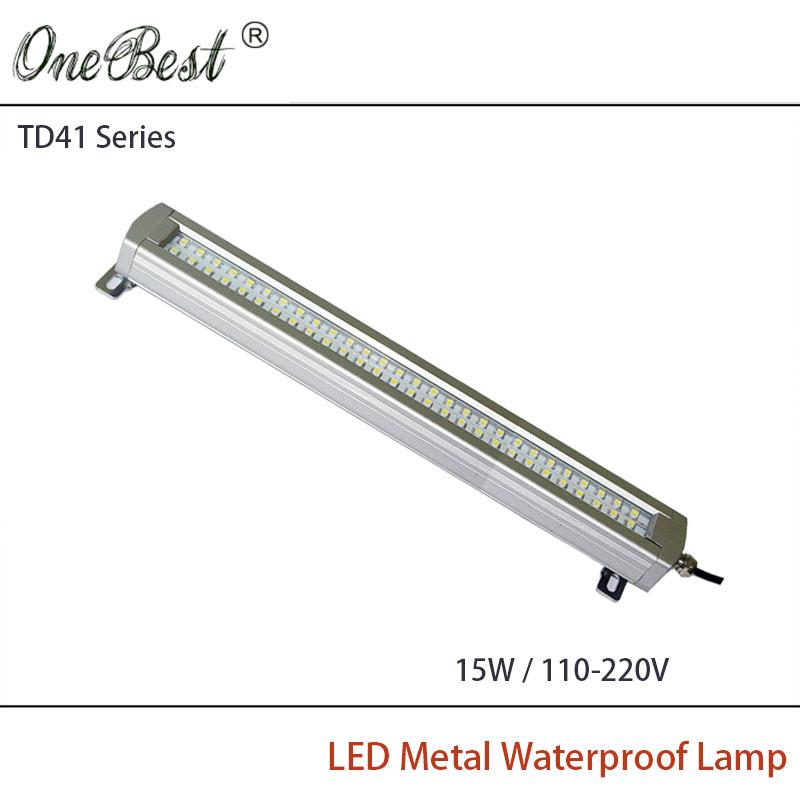HNTD TD41-15W 110-220V Led Metal Panel Light CNC Machine Tool Waterproof explosion-proof led Astigmatism Led Work Light(China (Mainland))