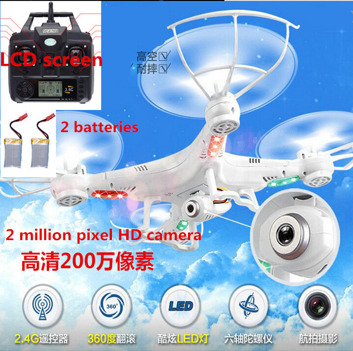 2015 hot sale Drone X5C-1 Remote Control Helicopter 2.4GHZ 4CH 2 MP HD camera Upgrade version  Quad copter Toys baby gift<br><br>Aliexpress