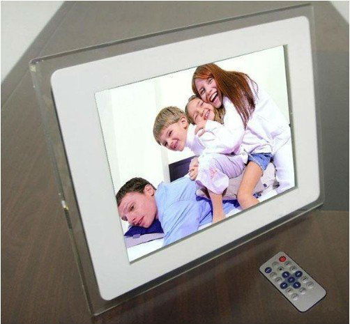 "New 12.1"" TFT High Resolution Display  Picture Frame Digital Photo rotating Mp3 Muisc Video FREE SHIPPING"