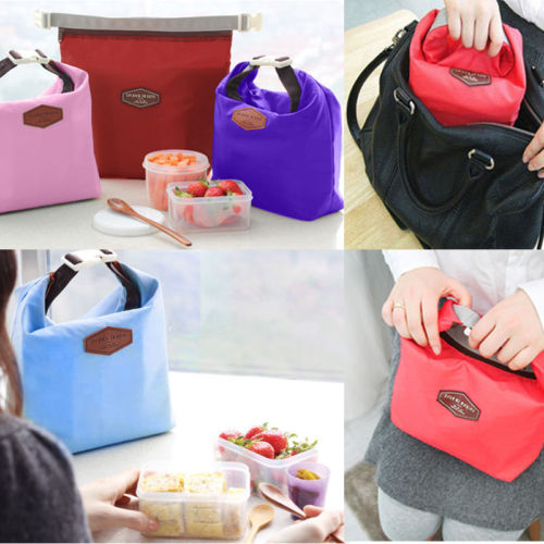 1 X Hot Sale Portable Thermal Cooler Waterproof Insulated Lunch Portable Carry Tote Picnic Storage Bag(China (Mainland))