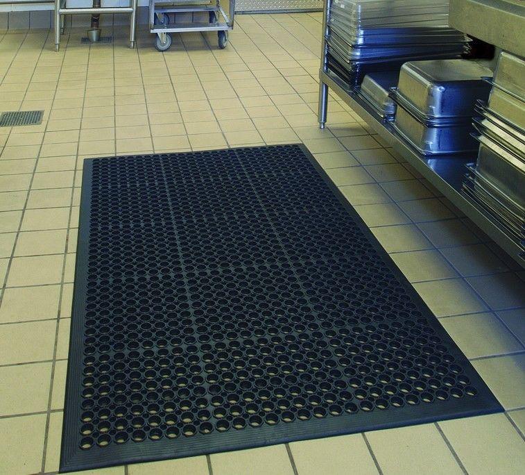 "36"" x 60"" Heavy-Duty Anti-Fatigue Floor Mat Black Indoor Commercial Industrial(China (Mainland))"