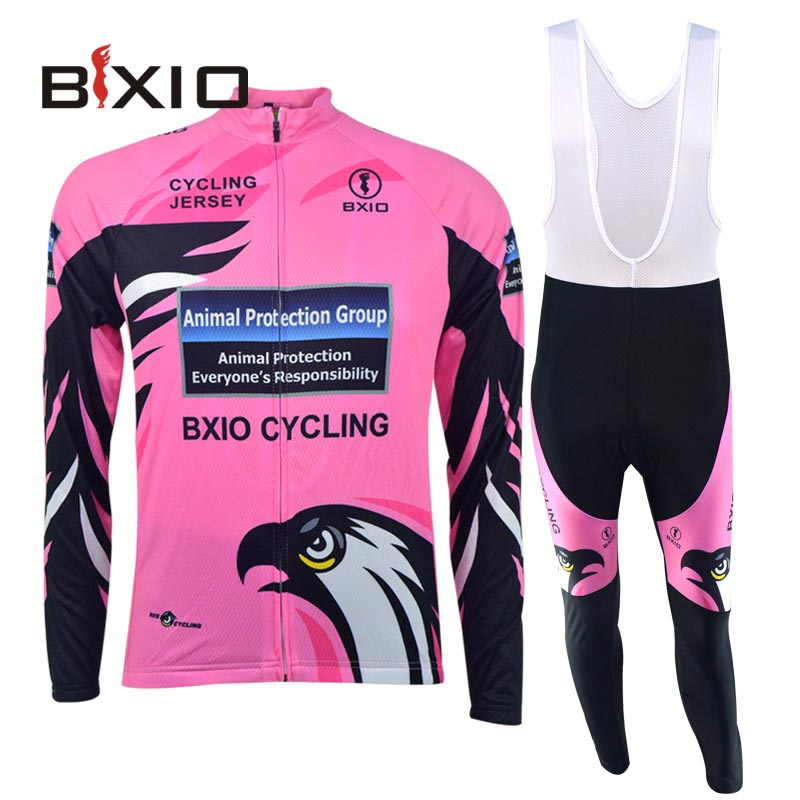 Bxio Cool Eagle Cycling Jersey Women Ropa Ciclismo Mujer Pro Mountain Winter Thermal Fleece Bike Clothing Hot Sale Jerseys 067(China (Mainland))
