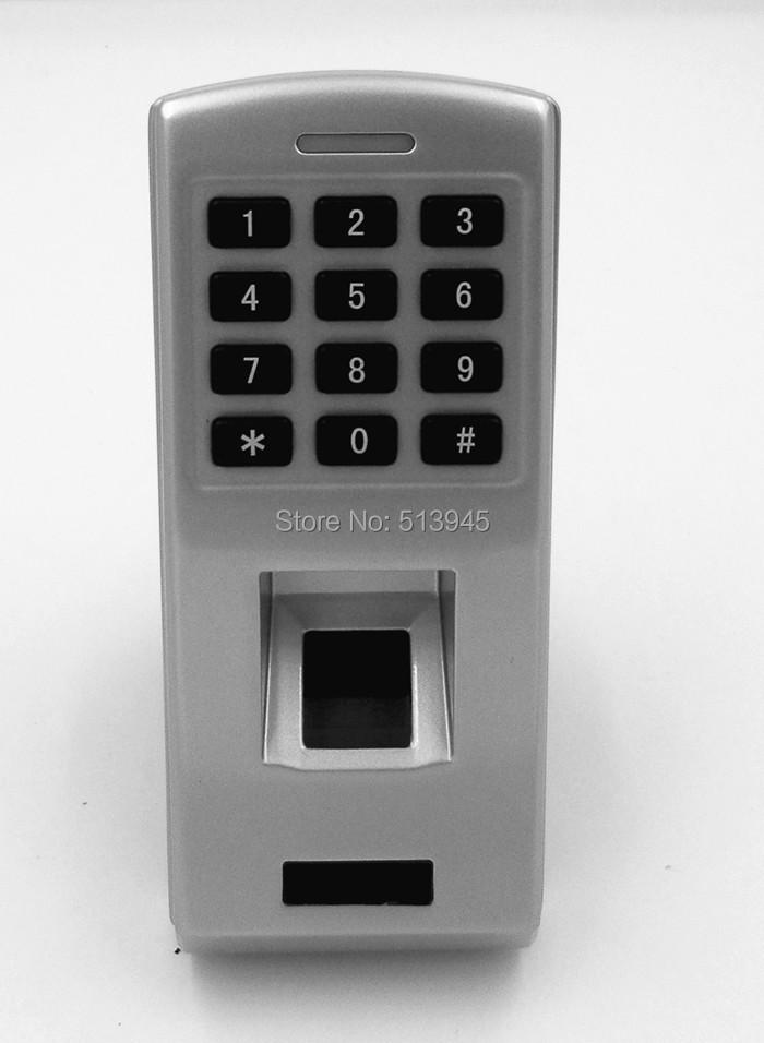 Фотография Full Metal Waterproof Fingerprint Access Control with Keypad 125kHz RFID proximity EM Reader Support RS485