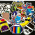 New style vinyl stickers for car sticker decal bicycle laptop sticker on car styling sticker bomb doodle motorcycle accessories