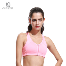 Buy Hot Sale Candy Colorful Women Fitness Stretch Bra Push Workout Tank Top Gym Clothing Understand Ladies Bra for $4.92 in AliExpress store