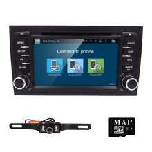 Free Camera 1024*600 Quad Core Android 5.1.1 Car DVD Player for Audi A4 2002-2007 S4 RS4 8E 8F B9 B7 RNS-E (DTV DAB+ Optional)(China (Mainland))