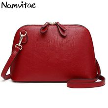 Buy Namvitae Brand Genuine Leather Women Messenger Bag High Cow Leather Small Crossbody Shell Bag Women Fashion Shoulder Bag for $12.11 in AliExpress store