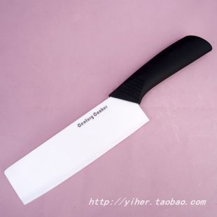 Direct origin China Yangjiang BW1605-A 6-inch white ceramic knife ABS handle special promotions(China (Mainland))
