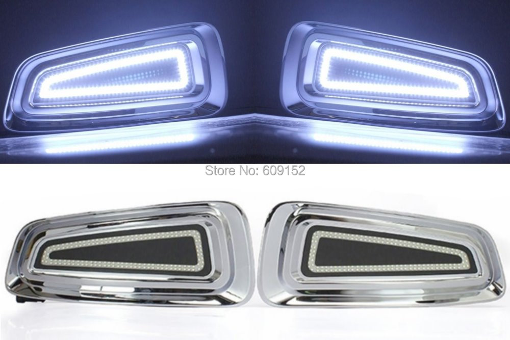 09-14 F150 Raptor Pick up Truck Car 2x 156 CREE Led daytime running driving light / Offroad fog light / Auxiliary DRL headlight(China (Mainland))