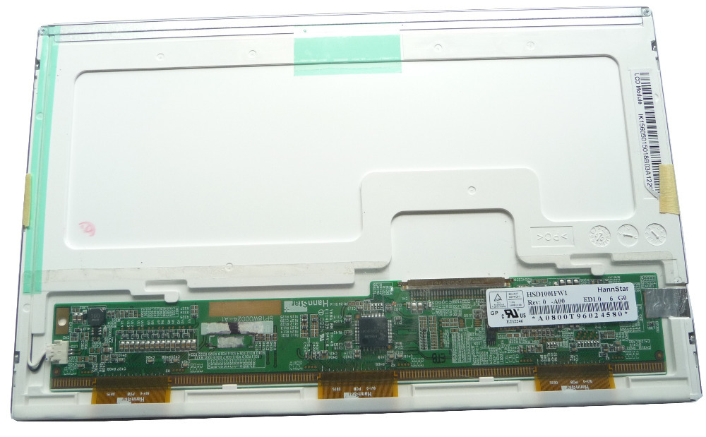 """NEW A+ 10"""" Laptop lcd screen LED Display panel HSD100IFW1 for ASUS Eee PC 1005P 1005PE 1001 1001P 1005P 1005PE 1005PED 1025C(China (Mainland))"""