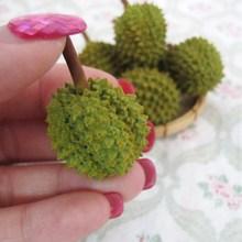 1:12 dollhouse miniature mini food fruit Durian(China (Mainland))