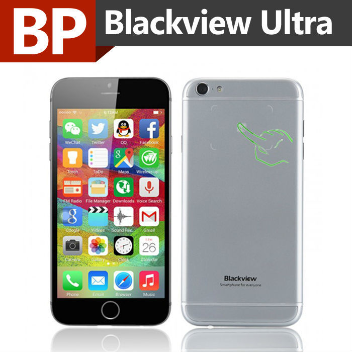 Мобильный телефон BlackView A6 MTK6582 4.7/1280 x 720 4.4 3G 1 8 13 BlackView Ultra A6 blackview a8 смартфон