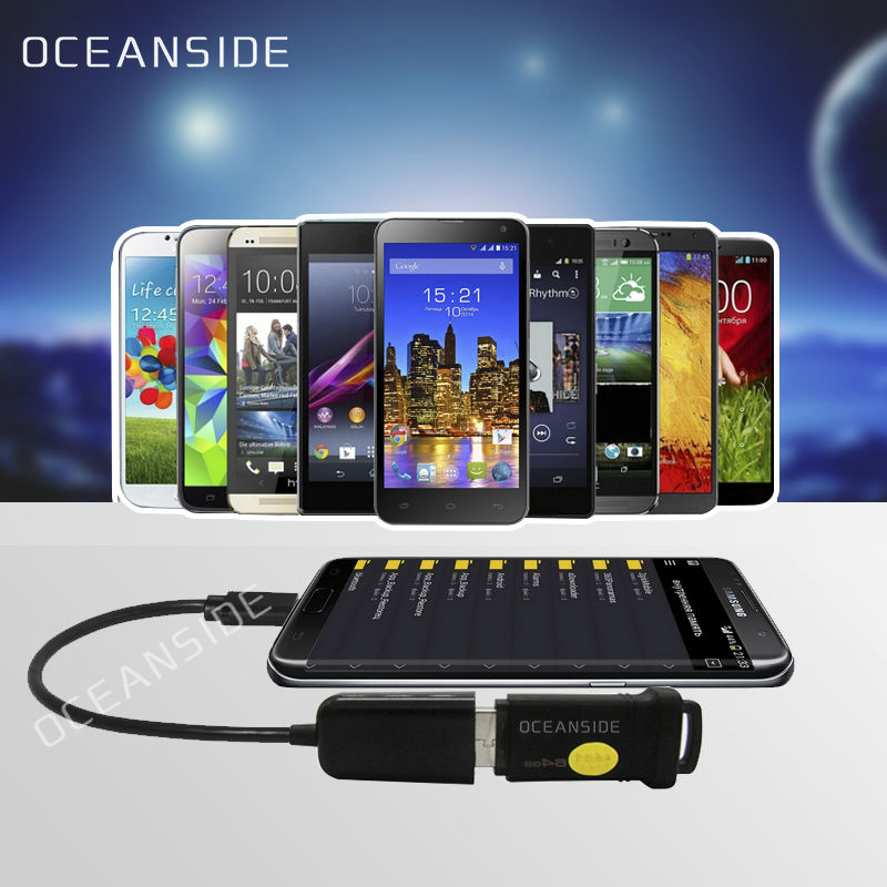 Micro USB USB OTG Adapter 2.0 Cable Lenovo A6000 A7000 A788T A8 A806 A808 A828T A850 Android phone Mouse Keyboard