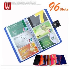 Buy 96 SLOTS Card Holder Women Travel Passport Holder Business Passport Cover ID Credit Card Holder Men Passport Wallet bags for $7.12 in AliExpress store
