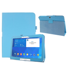 Hot selling Folio Leather Case Cover For Samsung Galaxy Tab 4 10.1″ SM-T530 Tablet