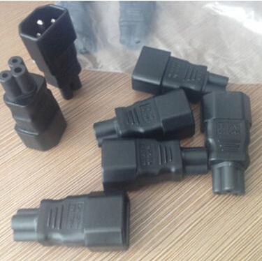 2015 New Design 1 PCS IEC 320 C14 to C5 Adapter C5 to C14 AC Adapter