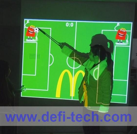BEST PRICE wholesale and retai DEFI Interactive floor projection system,for Advertising, Company Reception Areas(China (Mainland))