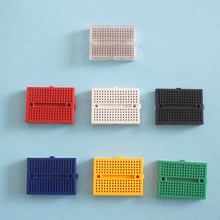 wholesale SYB-170 Mini Solderless Prototype Experiment Test Breadboard for arduino 170 Tie-points 35*47*8.5mm UNO R3 DIY