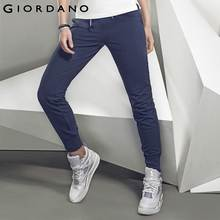 Giordano Women Blue Joggers Pants Sport Female Jogging Trousers Soft Joggers for Women Feminina Pantalon Femme(China (Mainland))