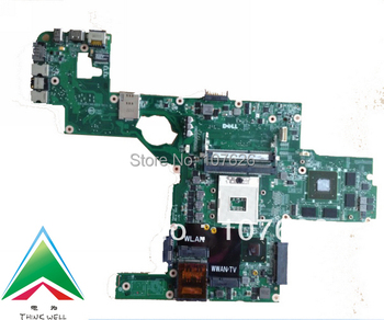714WC 0714WC DAGM6CMB8D0 L502x laptop motherboard  for dell XPS SERIES LAPTOP NVIDIA GeForce GT 540M&Intel GMA HD 2G DDR3