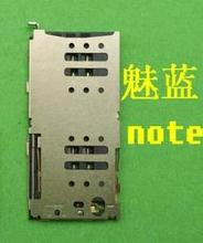 2PCS FOR charm blue note card connector SIM card slot(China (Mainland))
