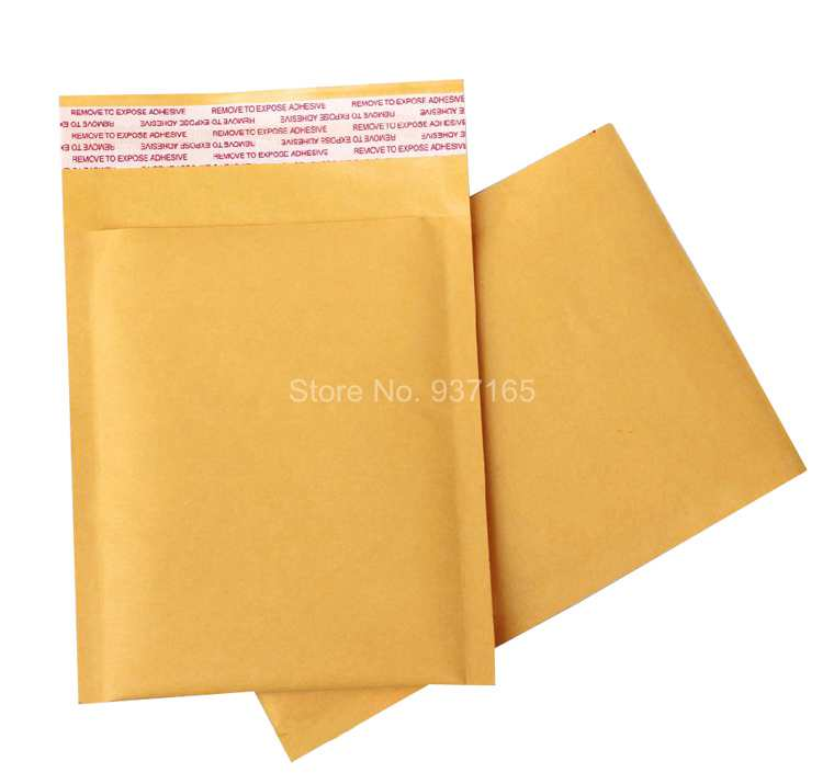 20pcs 23cm*27cm+4cm Kraft Papers Bubble Foam Mailers Padded Envelopes Bags Package for Jewelery Accessories Watch Gift(China (Mainland))