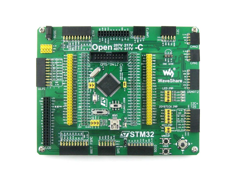 STM32 Board STM32F407VET6 STM32F407 ARM Cortex-M4 STM32 Development Board + PL2303 USB UART Converter = Open407V-C Standard<br><br>Aliexpress